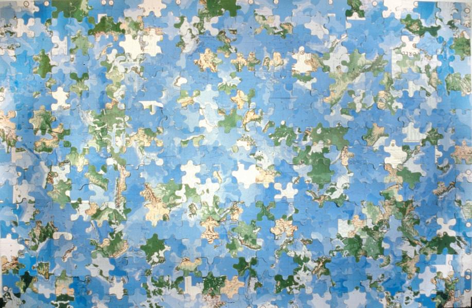 James Angus Puzzle, 1998; Photo Mural; 236 x 363 cm; enquire