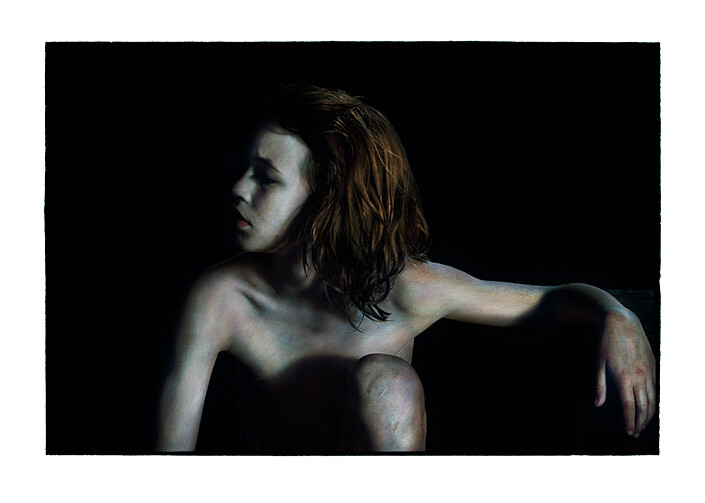 Bill Henson Untitled #19, 2011-12; RC SH21 N20C ; archival inkjet pigment print; 127 x 180 cm; Edition of 5 + AP 2; enquire