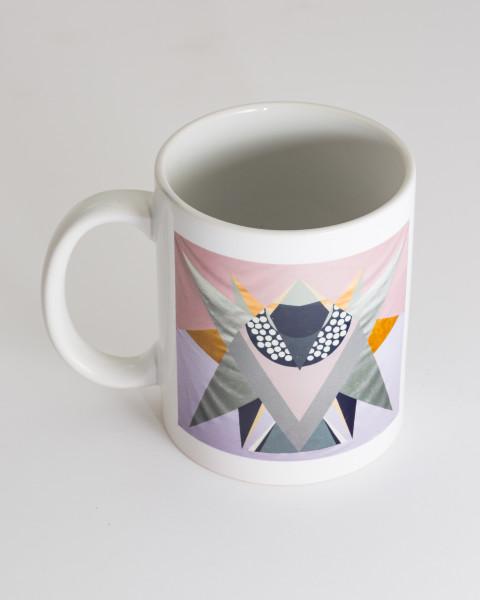 Mikala Dwyer Bird Mug 1, 2021; ceramic; Edition of 10; enquire