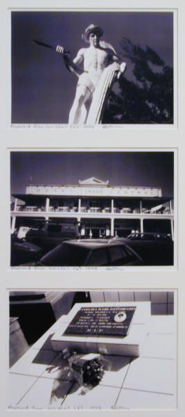Destiny Deacon Postcard from Innisfail (2) (4) (3), 1998; 3 colour laser prints; 21 x 29.7 cm; Edition of 15; enquire