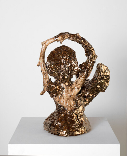 Mikala Dwyer The things in things, 2013; Found object, ceramic, glaze; 41 x 30 x 22 cm; enquire