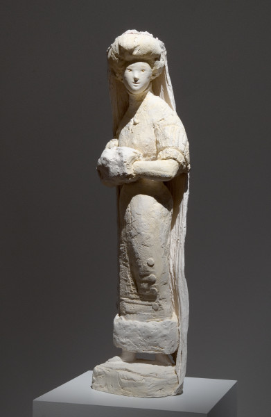 Linda Marrinon Winter Bride, 2010; painted plaster; 85 x 23 x 29 cm; enquire