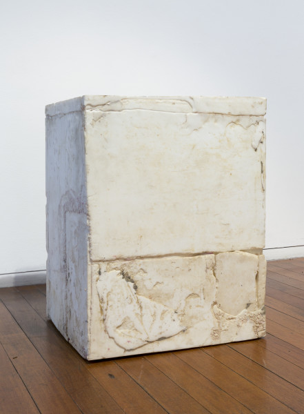 Hany Armanious Temple, 2009; cast pigmented polyurethane resin; 67 x 51 x 51 cm; enquire