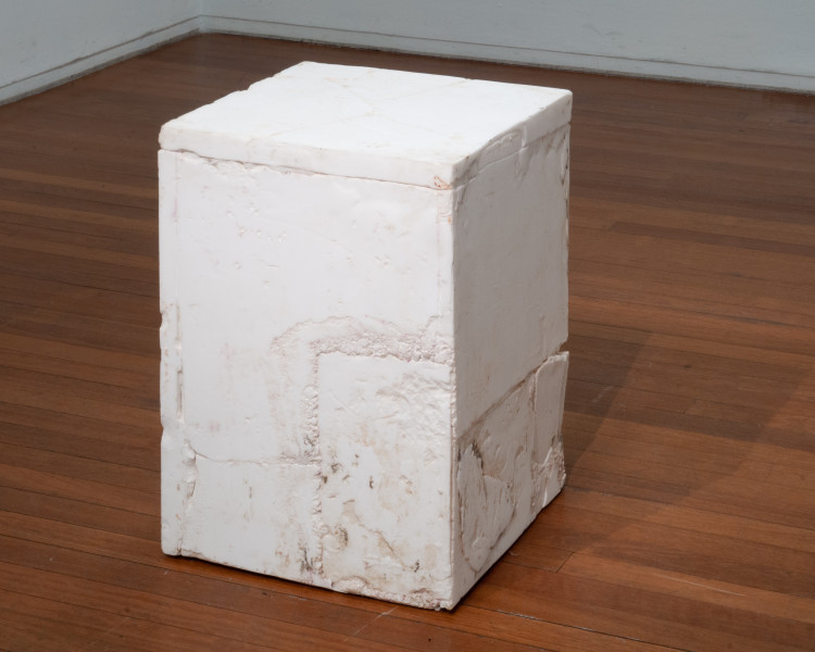 Hany Armanious Temple, 2009; cast pigmented polyurethane resin; 67 x 51 x 51 cm; enquire