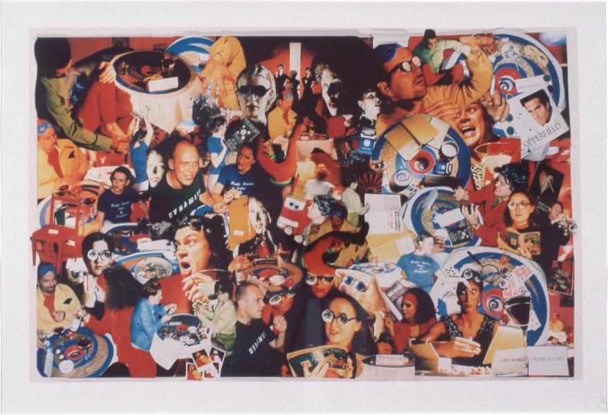 Georgina Starr Hypnodreamdruff: The Hungry Brain, 1996; photowork; 120 x 180 cm; Edition of 10; enquire
