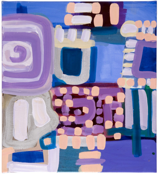 Angela Brennan Untitled, 2009; oil on linen; 56 x 51 cm; enquire