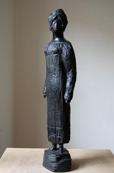 Linda Marrinon Regency Matron, 2010; bronze; 73 x 20 x 17 cm; Edition of 3 + AP 2; enquire