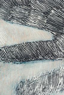 Nyapanyapa Yunupingu Djulpan (detail), 2020; 4011-20; natural earth pigments on paper; 109 x 72.5 cm; enquire