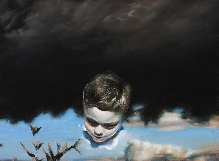 Louise Hearman Untitled #1291, 2009; oil on masonite; 61 x 83 cm; enquire