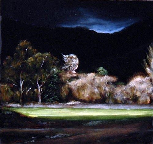 Louise Hearman Untitled #1109, 2004; oil on masonite; 51 x 54 cm; enquire