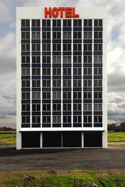 Callum Morton Hotel, 2008; enquire