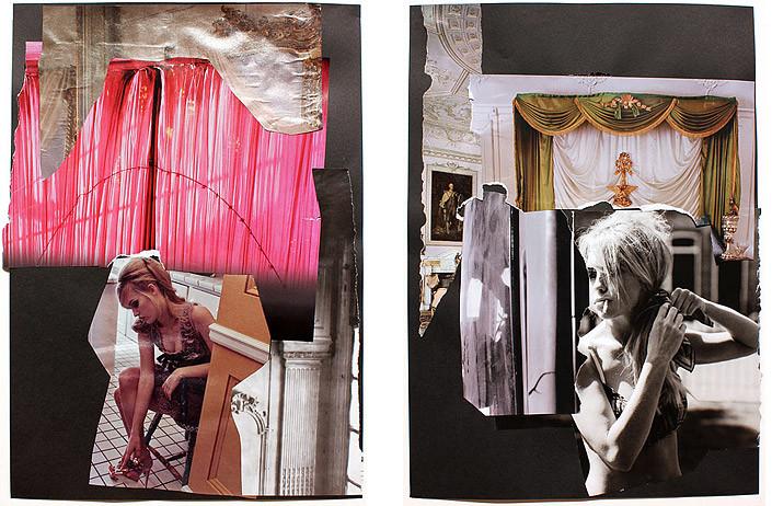 Jacqueline Fraser The Making of Et Dieu Crea La Femme, 2011, 2011; collage; enquire