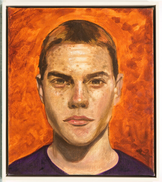 Daniel Boyd Kenny Boy, 2009; oil on canvas; 43.5 x 38 cm; enquire