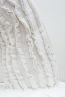 Kathy Temin Mothering Garden: Wall Display (detail), 2021; synthetic fur, synthetic filling; 200 x 360 x 80 cm; enquire