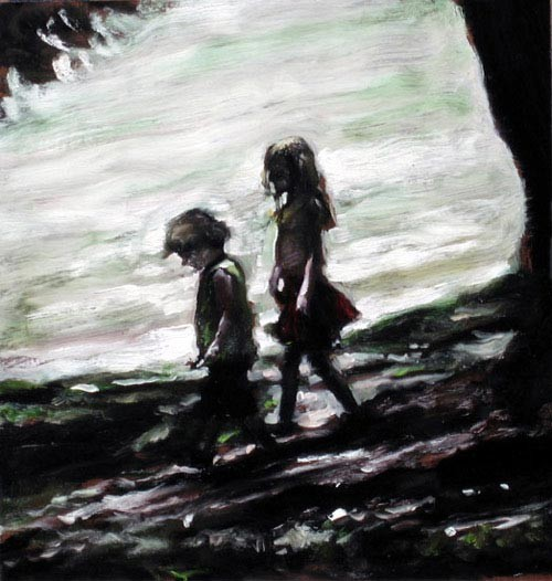 Louise Hearman Untitled #1134, 2005; oil on masonite; 30 x 29 cm; enquire