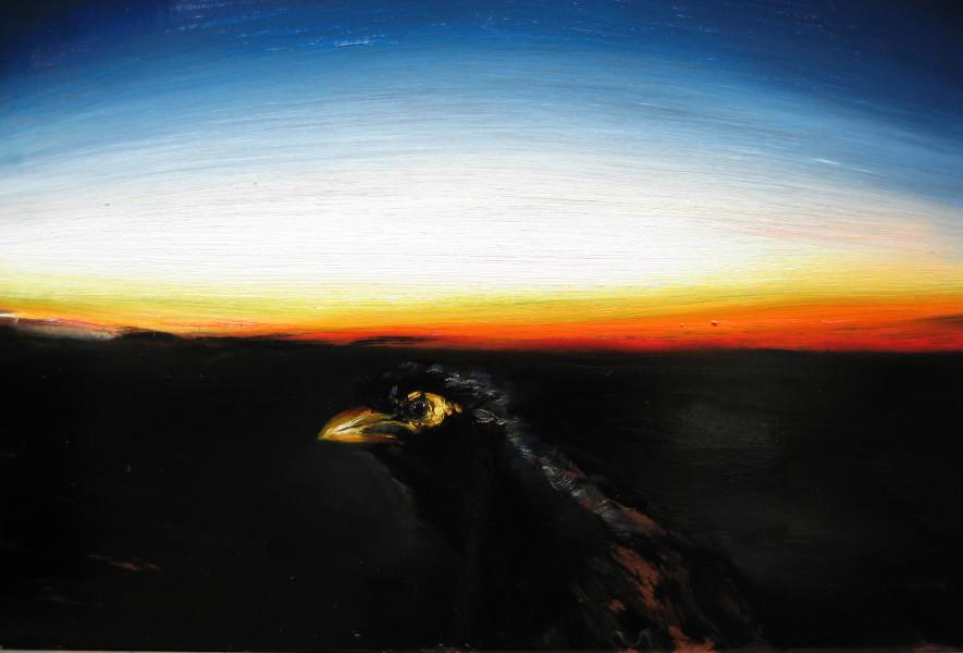 Louise Hearman Untitled #1085, 2005; oil on masonite; 41 x 53 cm; enquire