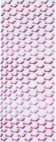 Howard Arkley 50's, 1979; acrylic on canvas; 203.6 x 78.6 cm; enquire