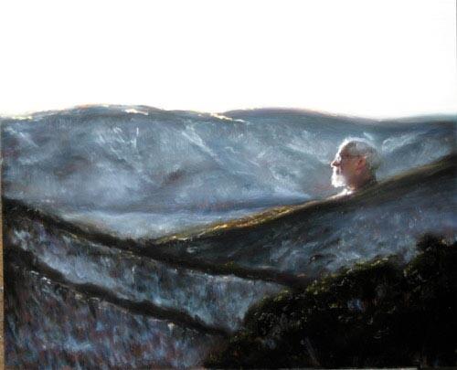 Louise Hearman Untitled #1096, 2005; oil on masonite; 47 x 58 cm; enquire