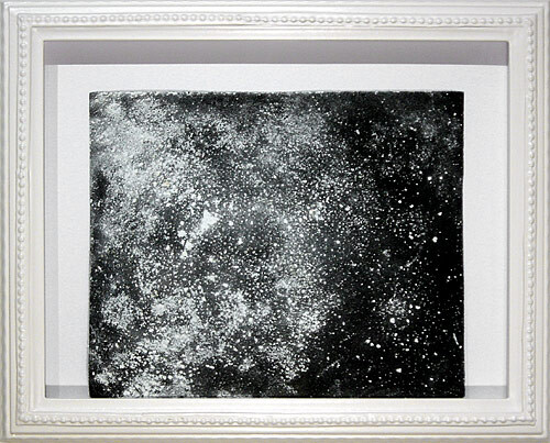 Hany Armanious Wall rubbing # 15, 2003; clogged sandpaper; 23 x 28 cm; (paper size) 34 x 41.5 cm (frame size); enquire