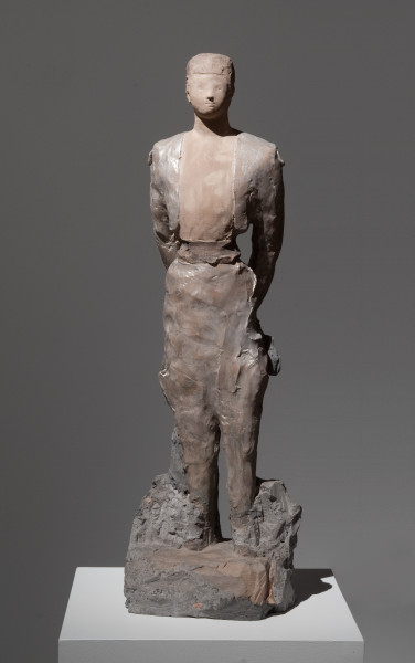 Linda Marrinon MC Hammer, 2009; tinted and painted plaster; 77 x 26 x 22 cm; enquire