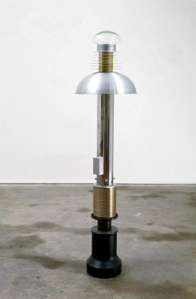 Robert Owen First Sight, 1985; aluminium, brass, stainless steel, plastic, lead, clay, oro glass; 131 x 33 x 33 cm; enquire