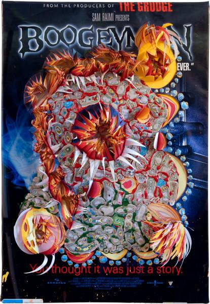 Rohan Wealleans Horrorgami, 2006; paint on paper; 96.5 x 69.5 x 15 cm; enquire