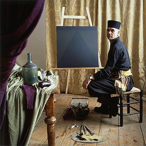 Anne Zahalka The Dutch Painter, 1987; Ilfochrome print; 80 x 80 cm; Edition of 10; enquire