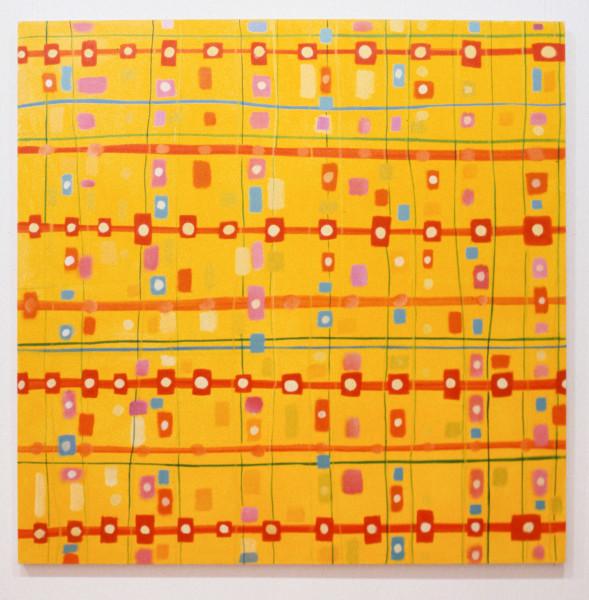 Angela Brennan Untitled, 1993; oil on canvas; 38 x 38 cm; enquire