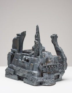 Fiona Hall Castles of Lost Destinies, 2015; Cat no. 16; Bronze; 26 x 26 x 23 cm; enquire