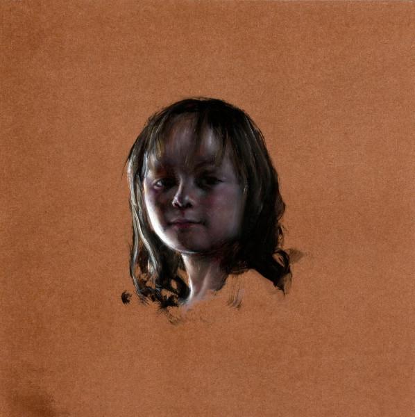 Louise Hearman Untitled #1300, 2009; oil on masonite; 61 x 61 cm; enquire