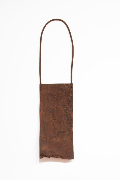 Lorraine Connelly-Northey Narrbong, 2019; CONNL - 0032; rusted steel; 260 x 60 x 15 cm; enquire