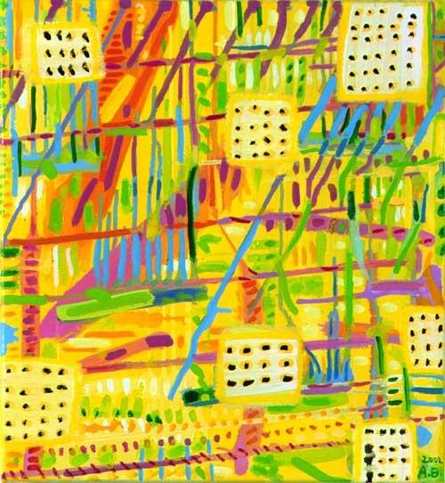 Angela Brennan Views & details II, 2002; Oil on linen; 39 x 37.5 cm; enquire