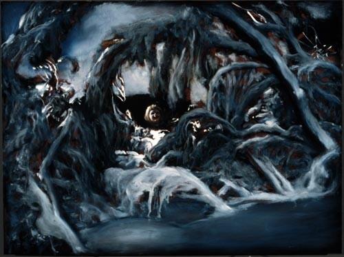 Louise Hearman Untitled #729, 1999; oil on masonite; 69 x 91 cm; enquire