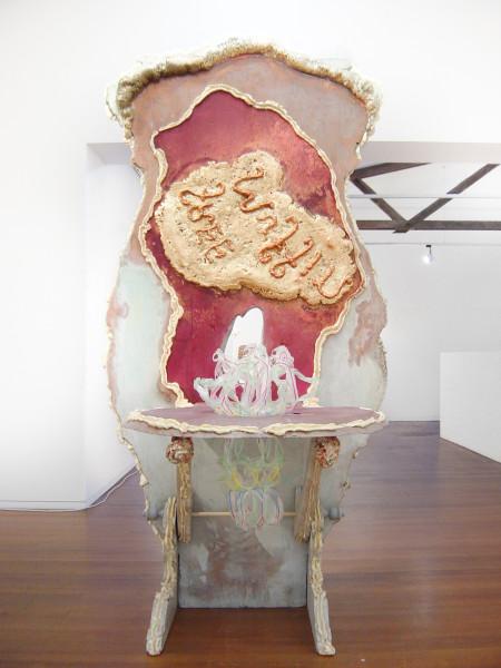 Hany Armanious One-way street, 2003; polystyrene, expanding foam, acrylic, snap-lock bag tops; 241 x 160 x 80 cm; enquire