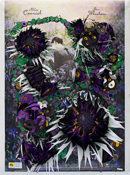 Rohan Wealleans Passion, 2010; house paint, paper, polystyrene; 104 x 79 x 25 cm; enquire
