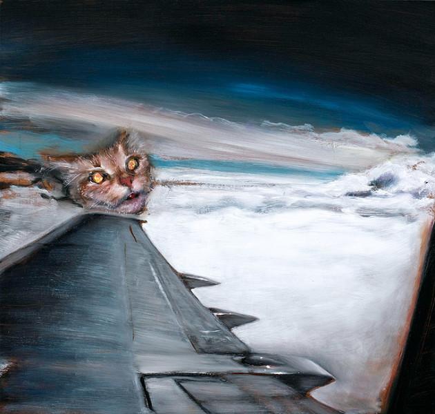 Louise Hearman Untitled #1280, 2008; oil on masonite; 61 x 64 cm; enquire