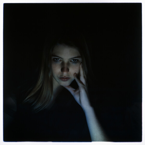 Bill Henson Untitled 49/126, 1990-91; from the series Paris Opera Project; type C photograph; 127 x 127 cm; series of 50; Edition of 10 + AP 2; enquire