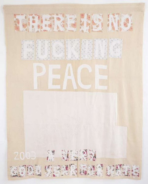 Tracey Emin REMEMBERING  2003, 2004; appliqué blanket with embroidery; 238.5 x 185.5 cm; enquire