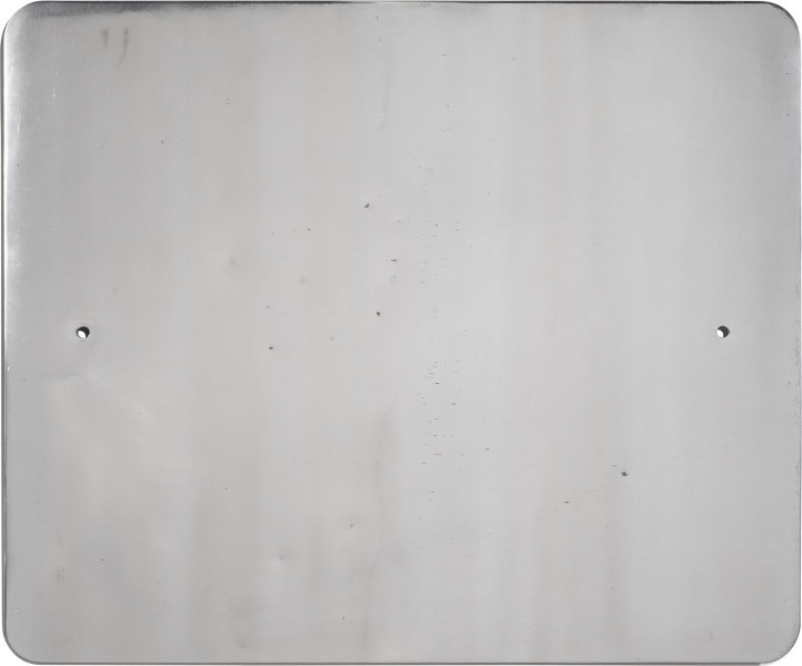 Marley Dawson Sign (Landscape/Constellation) #9, 2013; decommissioned 5052 Aluminum road sign; 61 x 76 cm; enquire