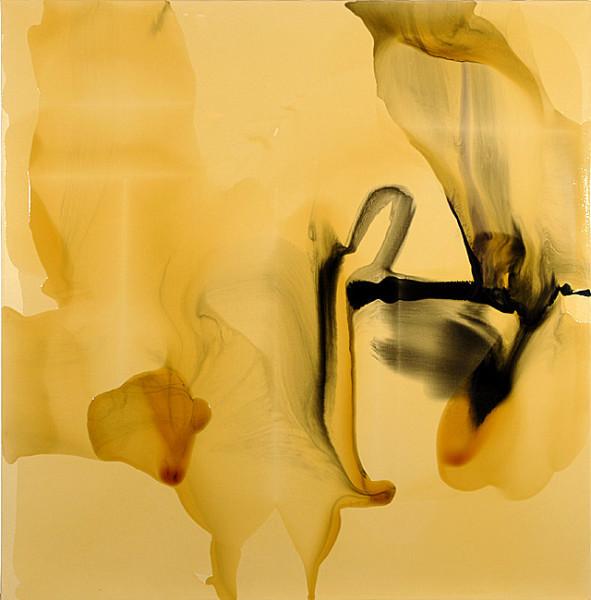 Dale Frank Onager, 2009; varnish on canvas; 200 x 200 cm; enquire