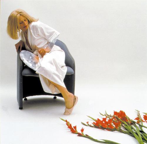 Julie Rrap Camouflage #6 (Tippi), 2000; type c colour photograph; 122 x 122 cm; Edition of 9; enquire