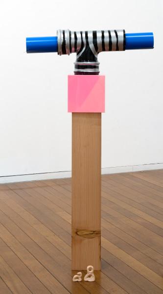 Mikala Dwyer 28, 2009; wood, magnetic rubber, steel, acrylic, paint, pins; 120 x 63 x 18 cm; enquire