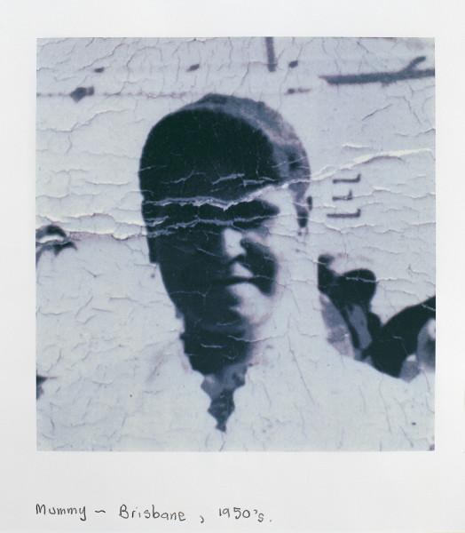 Destiny Deacon Mummy - Brisbane, 1950's, 1998; colour laser print; 42.2 x 29.8 cm; Edition of 15; enquire