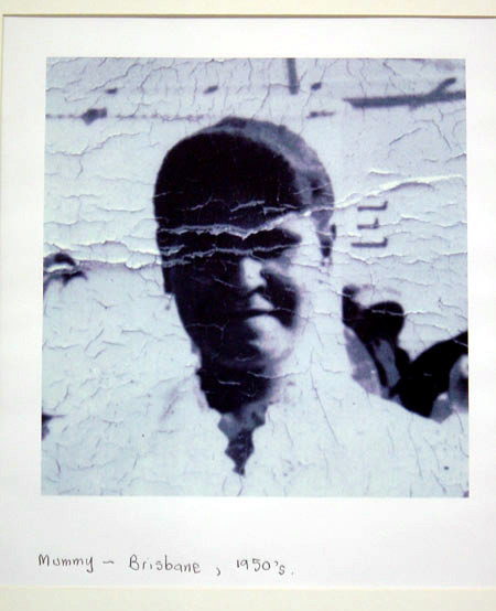 Destiny Deacon Mummy - Brisbane, 1950's, 1998; colour laser print; 42.2 x 29.8 cm; Edition of 15; enquire