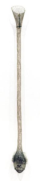 Bronwyn Oliver Vessel, 1991; copper, bronze; 170 x 20 x 20 cm; enquire