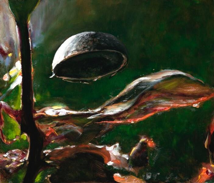 Louise Hearman Untitled #1231, 2007; Oil on masonite; 52 x 61 cm; enquire