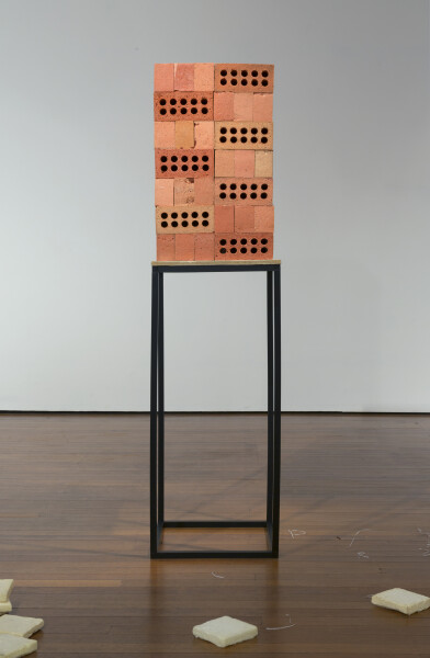 Hany Armanious Limerick, 2012; cast pigmented polyurethane foam and resin; 191 x 50.5 x 50.5 cm; enquire