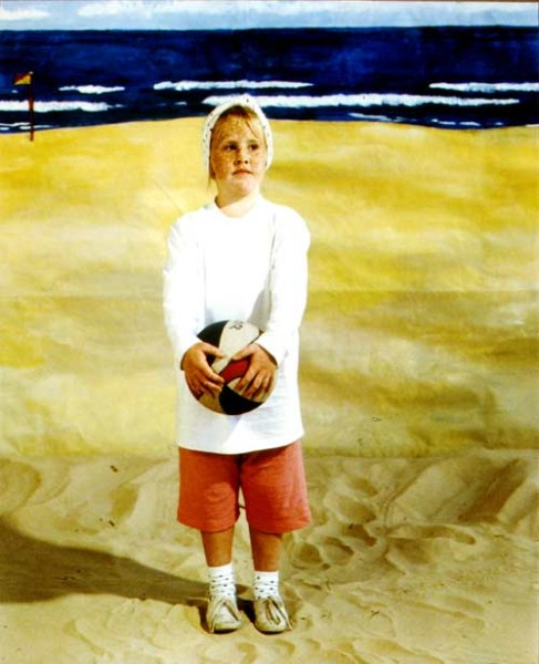 Anne Zahalka The Girl, 1989; type C colour photographs; 74 x 90 cm; Edition of 20; enquire