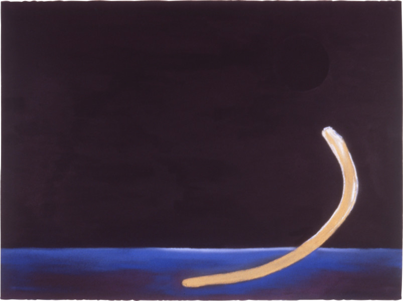 Fiona Foley Dugong 2, 1988; ink and pastel on paper; 56.5 x 76.5 cm; enquire