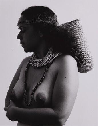 Fiona Foley Badtjala Woman C, 1994; Set of 3 images; Sepia photograph; 45 x 35 cm; Edition of 10; enquire